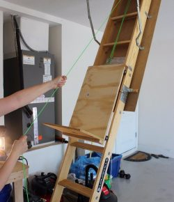 DIY Attic Storage Lift
