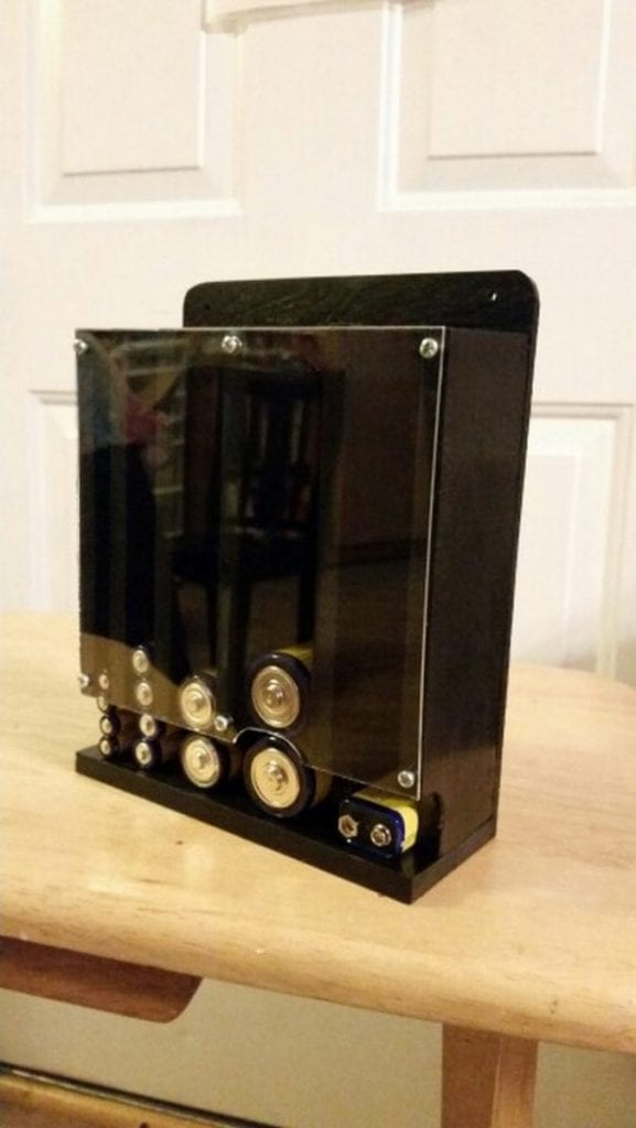 DIY Drop Down Battery Dispenser