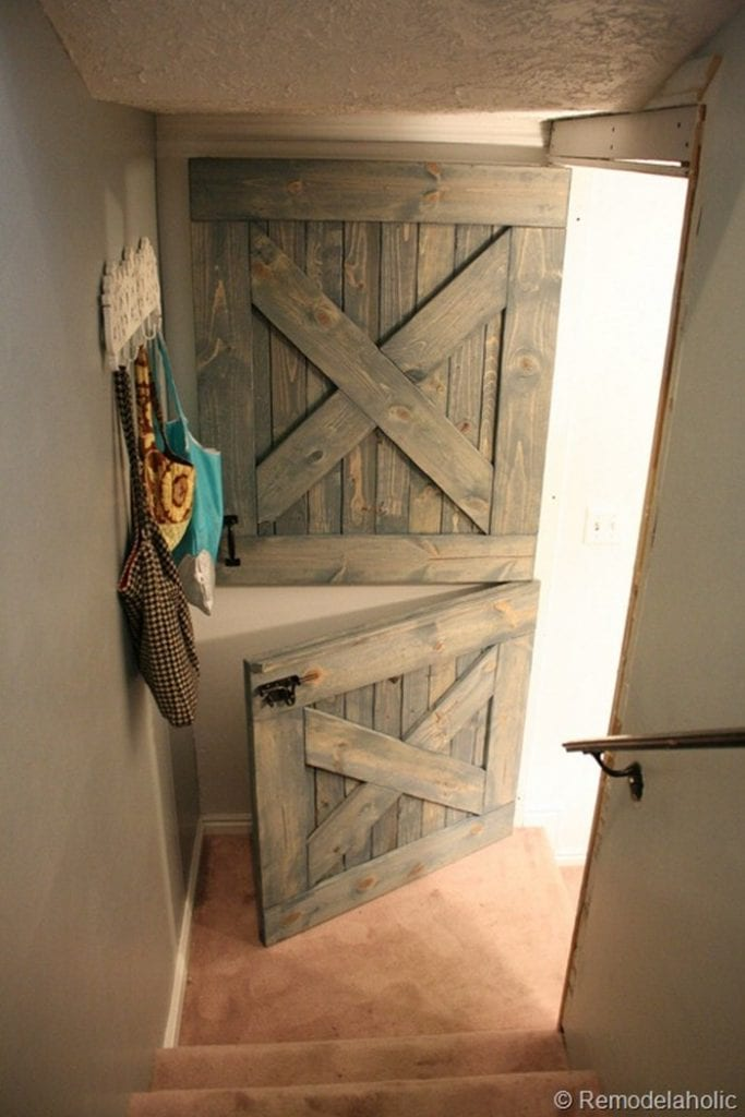 Build your own dutch barn door your projects obn for The barn door company
