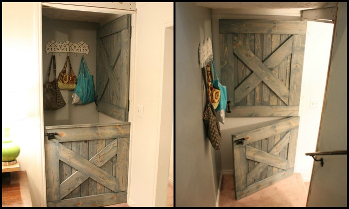Build your own Dutch barn door!