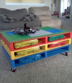 DIY Lego Table Ideas