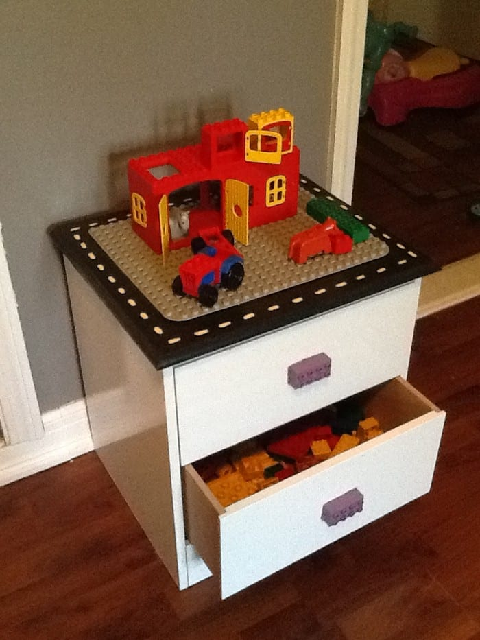 easy diy lego table turn an of furniture into a clever lego table with storage for the your