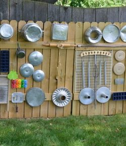 DIY Outdoor Sound Wall