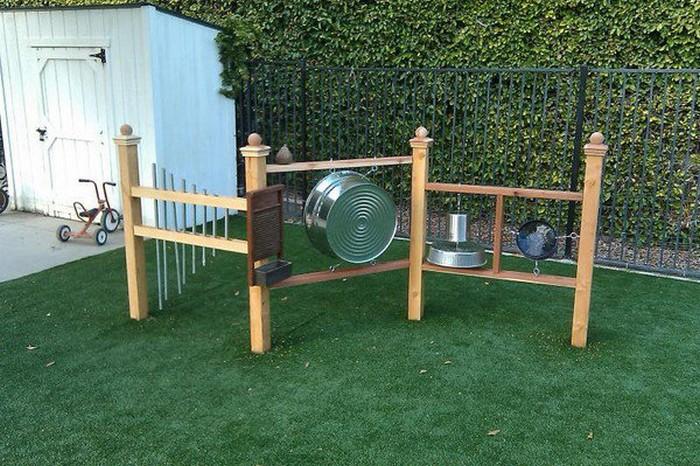 DIY Outdoor Sound Wall