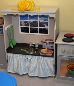 Nightstand Play Kitchen
