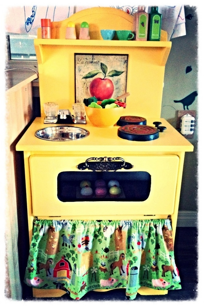 Diy Play Kitchen From Nightstand 06 Your Projects Obn