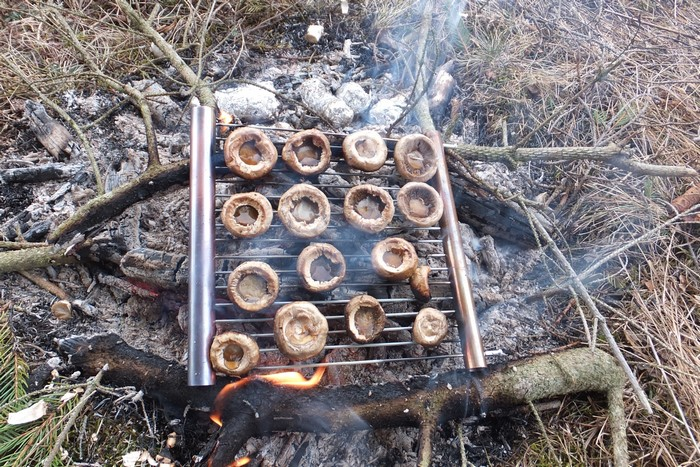 DIY pocket grill