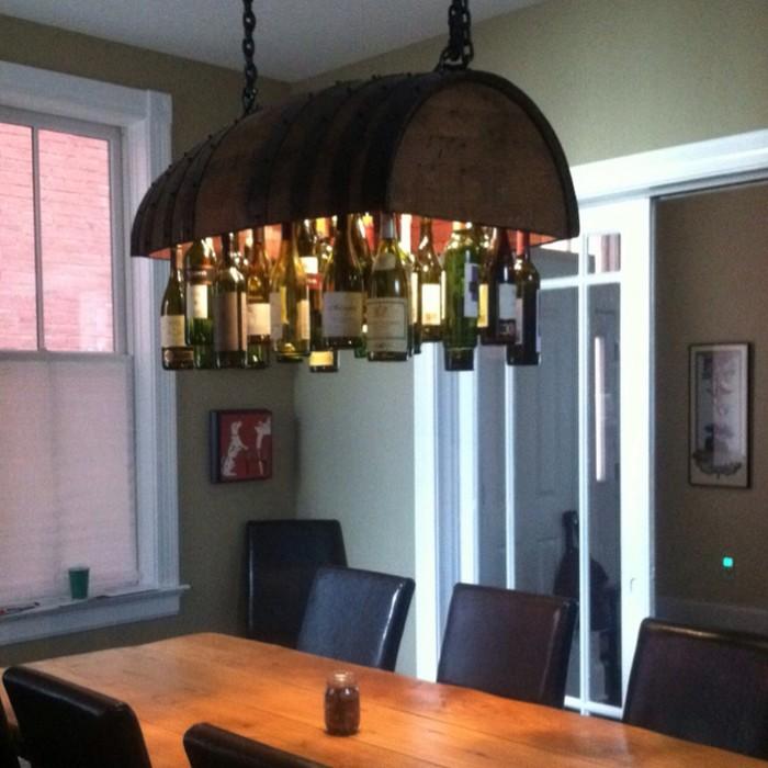 Learn how to build a wine bottle chandelier your projectsobn diy wine bottle chandelier mozeypictures Gallery