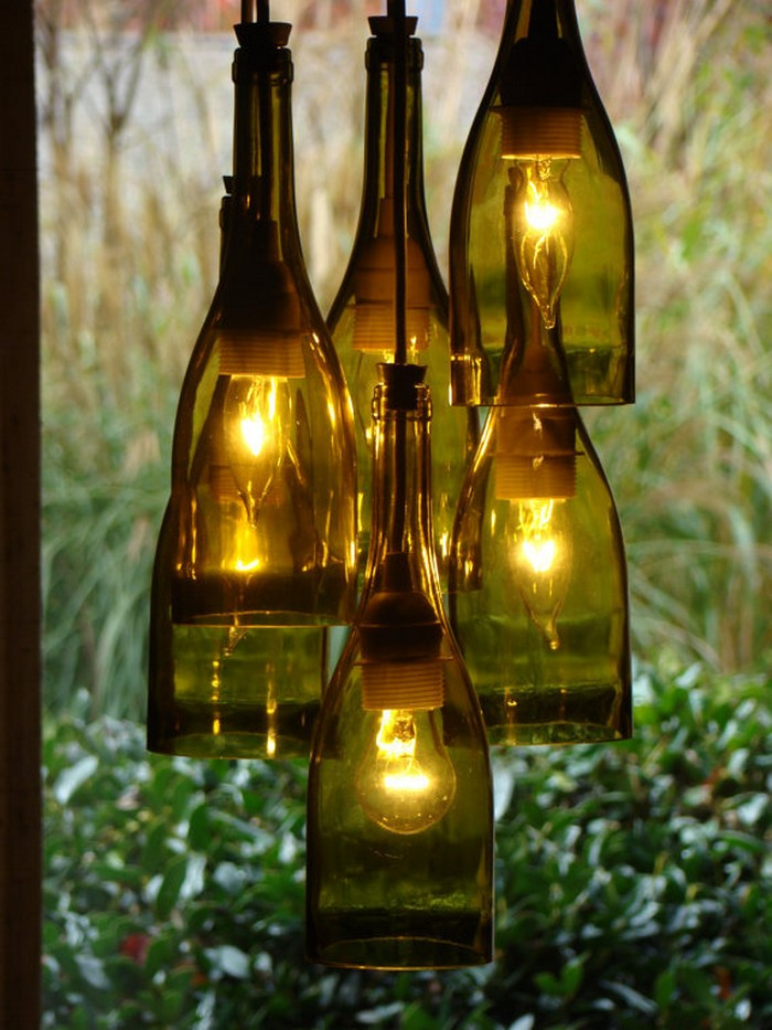 Learn how to build a wine bottle chandelier your projectsobn diy wine bottle chandelier aloadofball Images