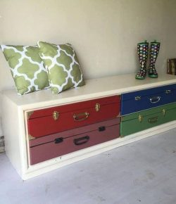 Faux Suitcase Drawers