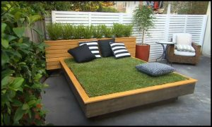Learn how to build an awesome grass daybed!