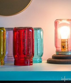 DIY Mason Jar Lamp