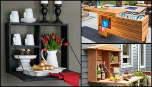 Outdoor Serving Station Design Ideas