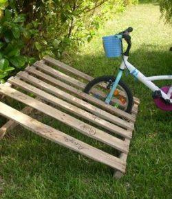 Pallet Bike Rack