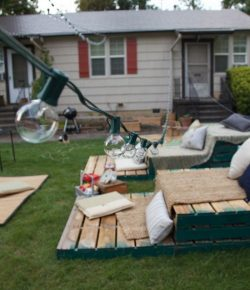 Pallet Home Theater Seating