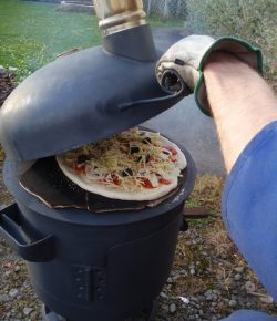 Pizza Oven Patio Heater