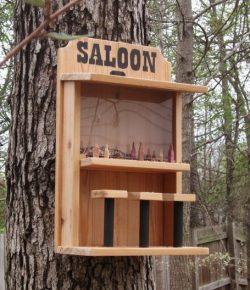 Saloon Bird Feeder