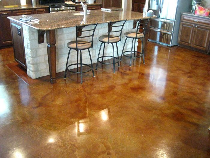 Stain And Seal Any Concrete Floor