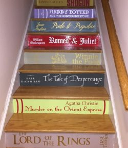Staircase of Books