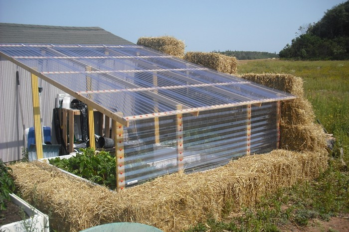 Build Your Own Greenhouse Out Of Straw Bale Your