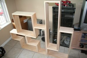 Learn how to build a Tetris bookshelf!