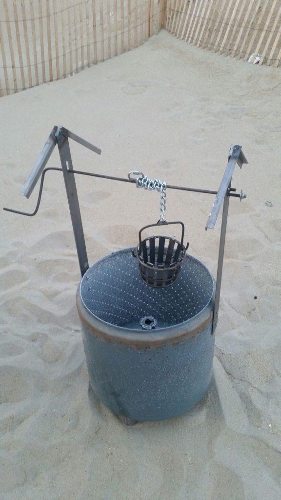 Wishing Well Burn Barrel
