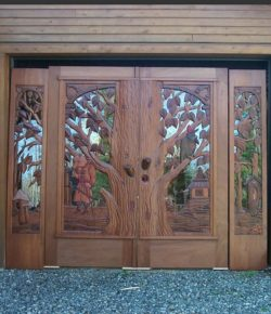 Carved Wooden Doors