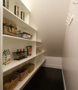 Narrow Wall-Mounted Shelves