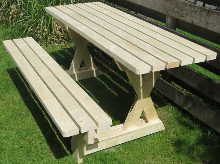 How To Build A 2 In 1 Picnic Table And Bench Diy Picnic