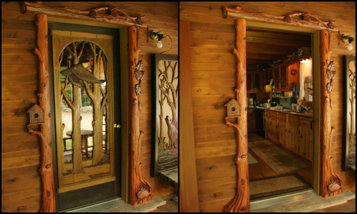 Custom Carved Wooden Door Designs