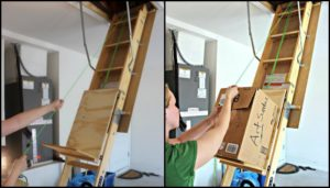 Improve your attic storage with this DIY lift system!