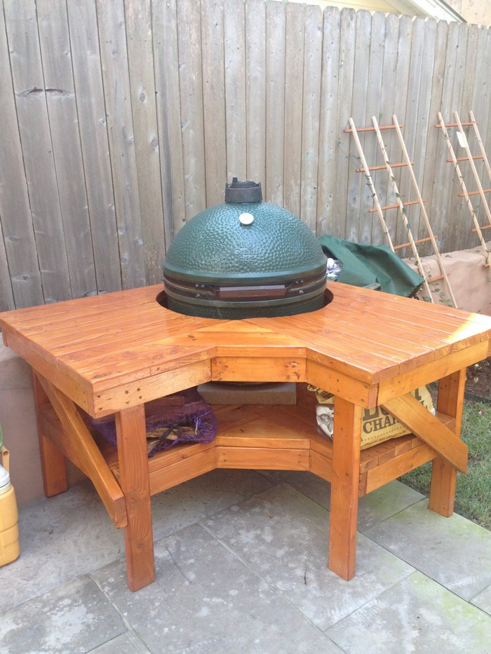 Build Your Own Barbecue Grill Table Your Projects Obn