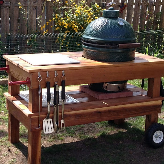 Build your own barbecue grill table | DIY, Barbecue Grill ...