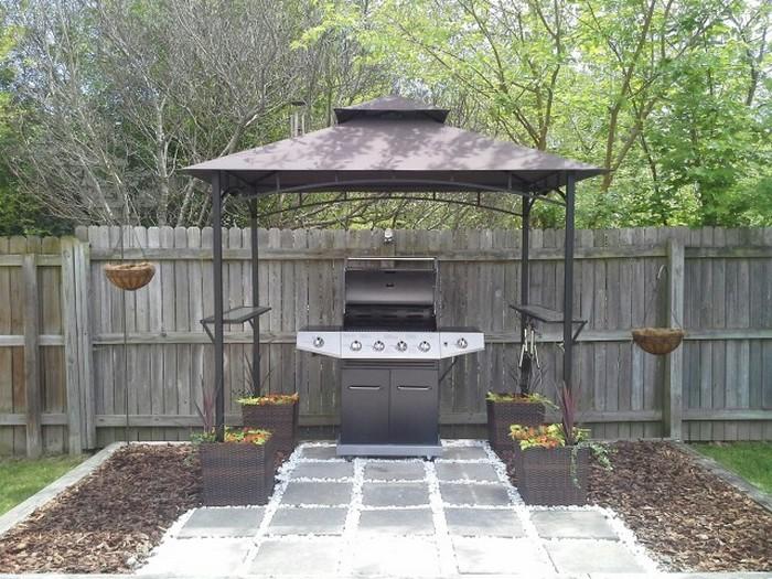 Build Your Own Backyard Grill Gazebo DIY Grill Gazebo - Backyard grill ideas