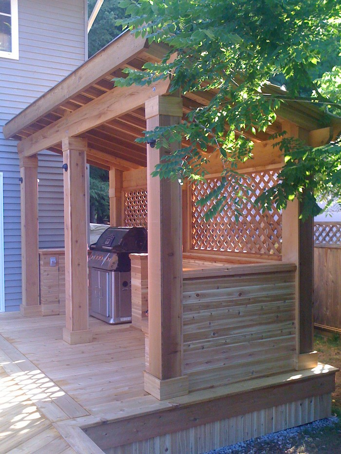 Do It Yourself Home Design: Build Your Own Backyard Grill Gazebo!