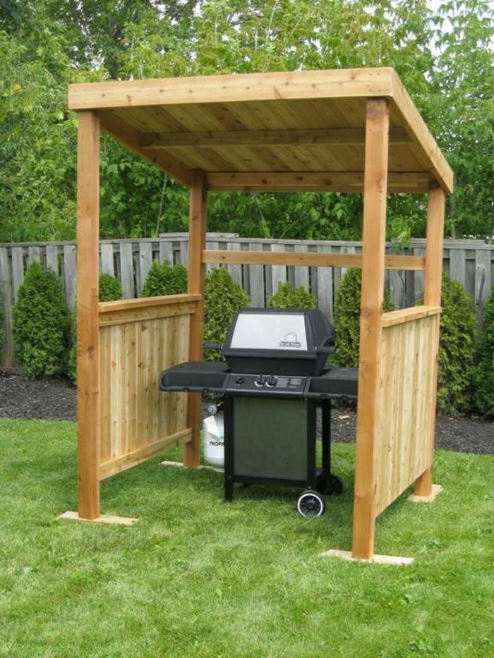 Build your own backyard grill gazebo | DIY, Grill Gazebo