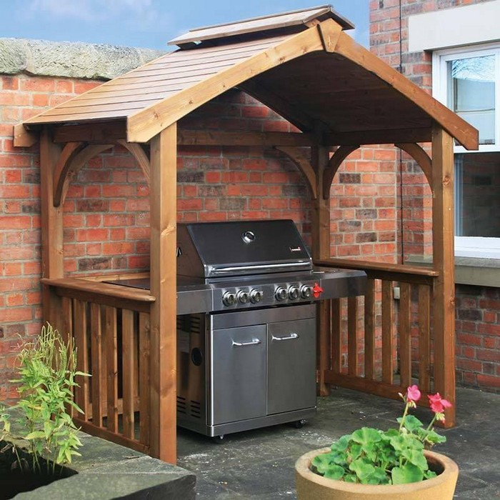 Diy Sheds For Sale: Build Your Own Backyard Grill Gazebo!
