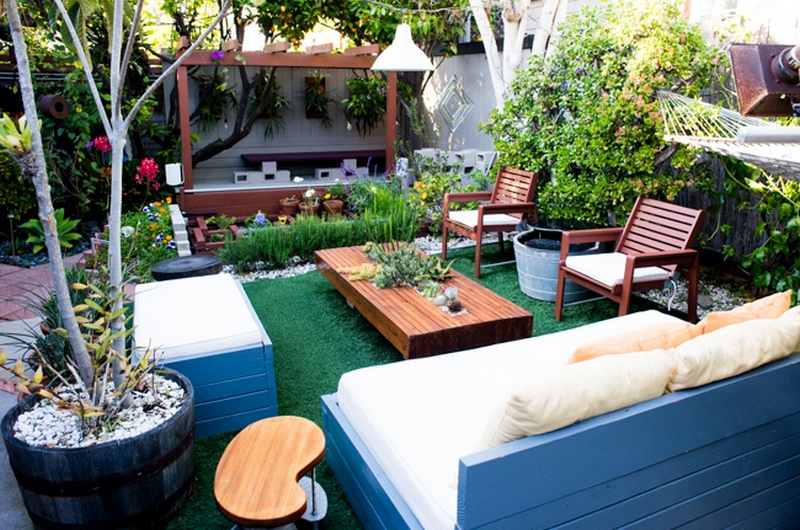 entertainment to your backyard by building an outdoor