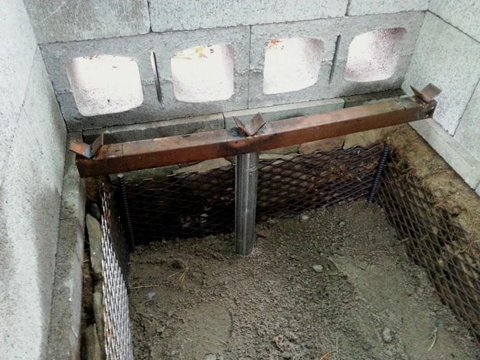 Rotisserie BBQ Pit