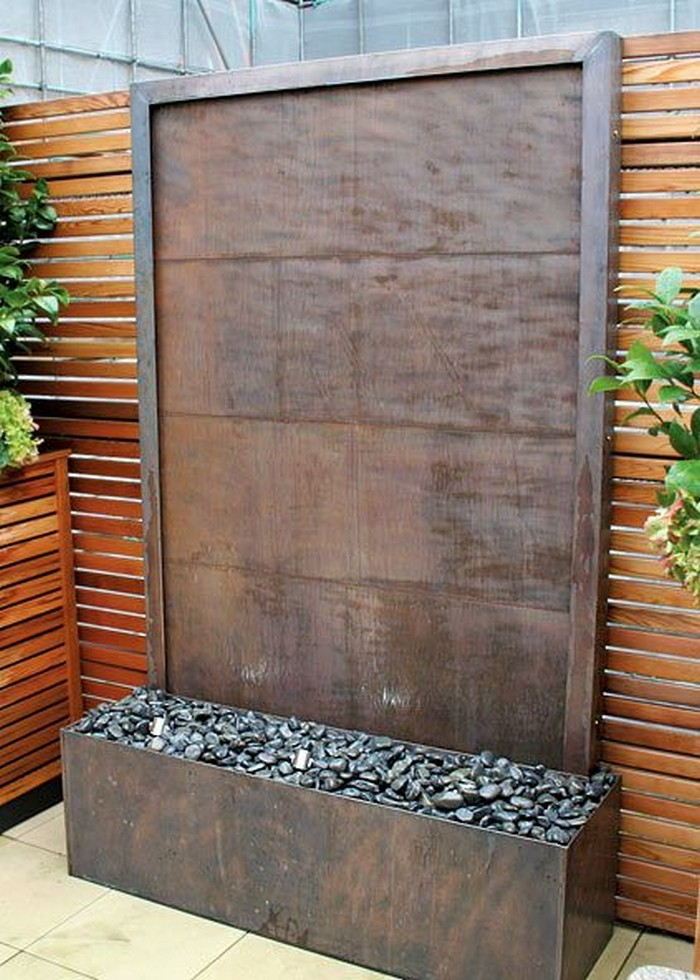Diy Glass Water Wall Your Projects Obn