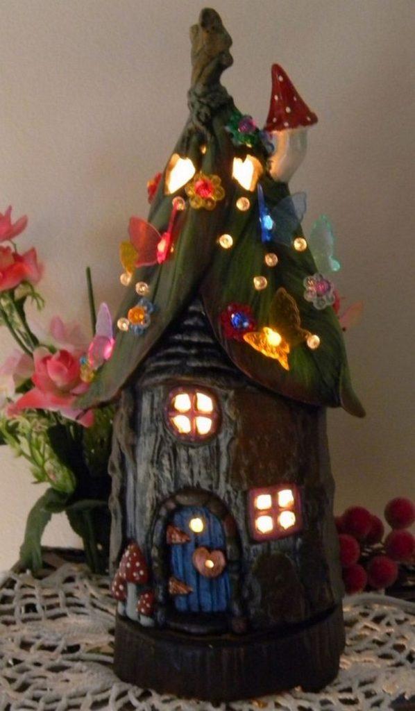 Fairy House Lamp Samples