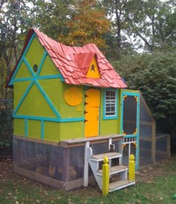 Fairytale Chicken Coop