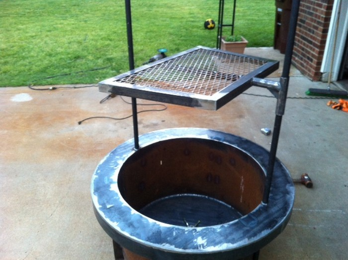 Fire Pit with Cooking Grill - Build A Fire Pit With Cooking Grill In Your Backyard DIY, Grill