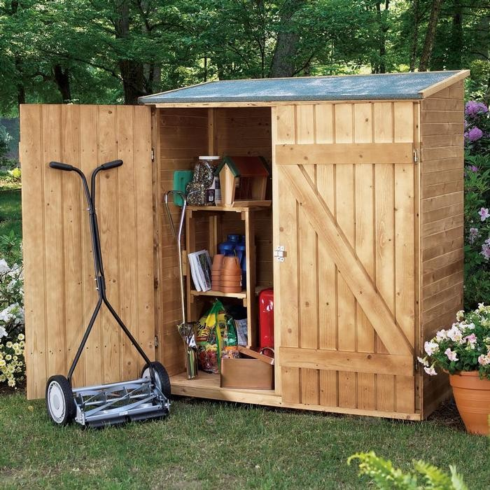 Build a whimsical tool shed for your garden diy for Shed project