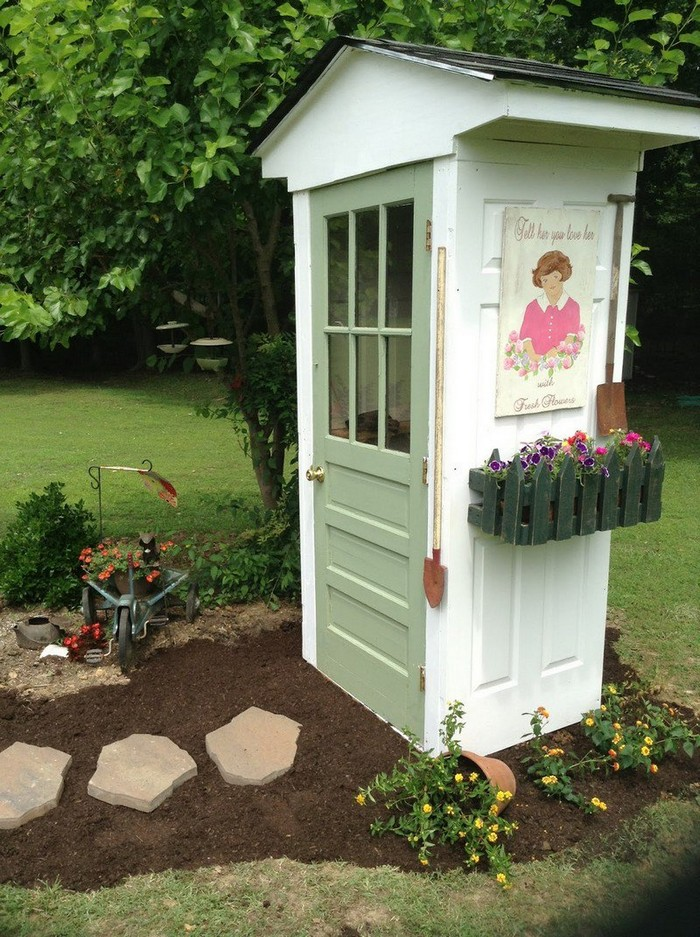 Build a whimsical tool shed for your garden | DIY ...