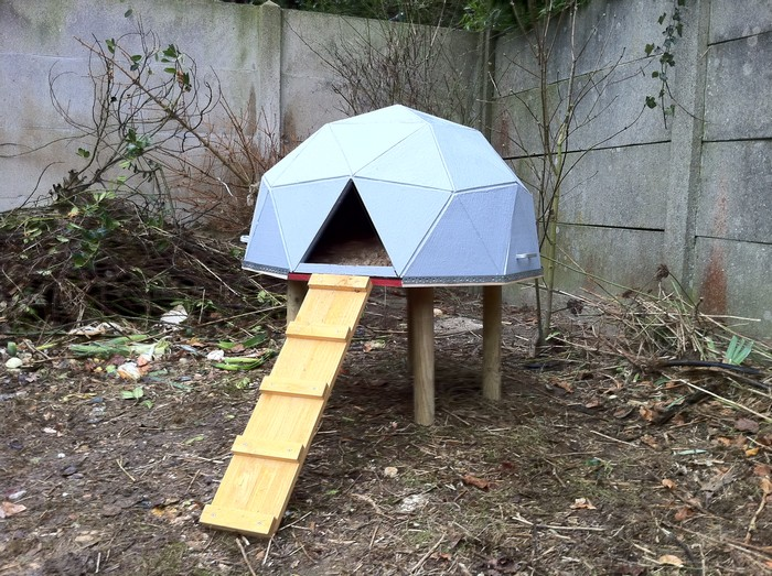 Build Your Chooks A Geodesic Chicken Tractor Your