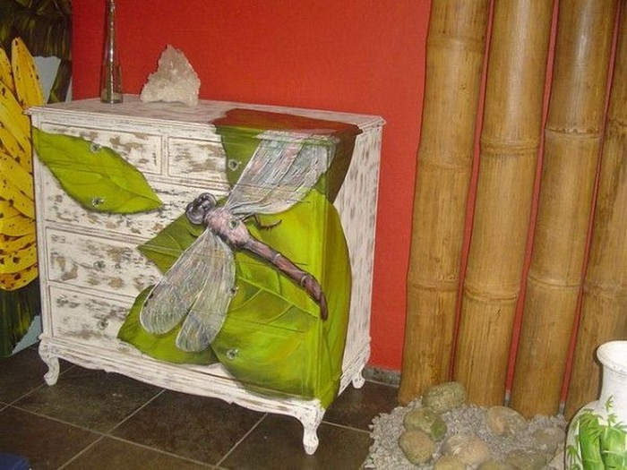 Hand-painted dressers