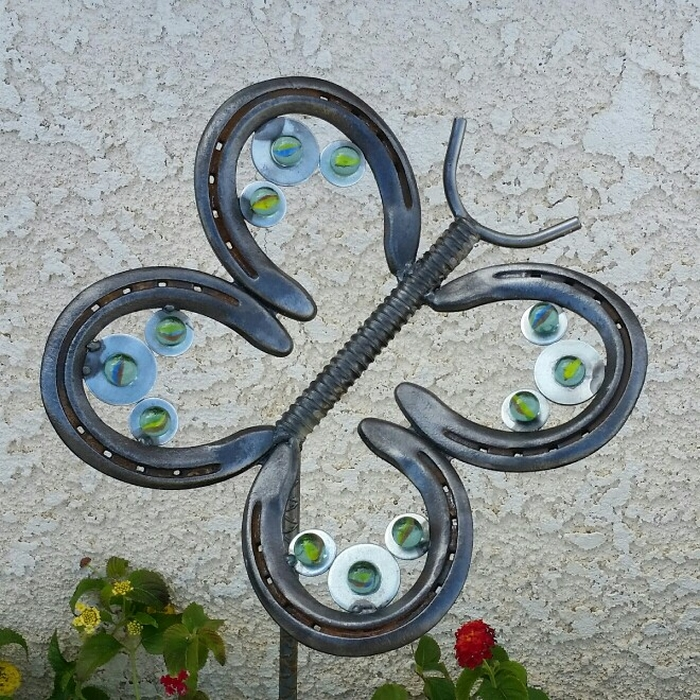 Upcycled horseshoes ideas diy horeshoes home decor for Things you can make with horseshoes