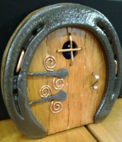 Horseshoe Fairy Door