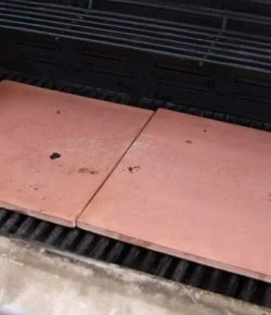 Unglazed tile pizza stone